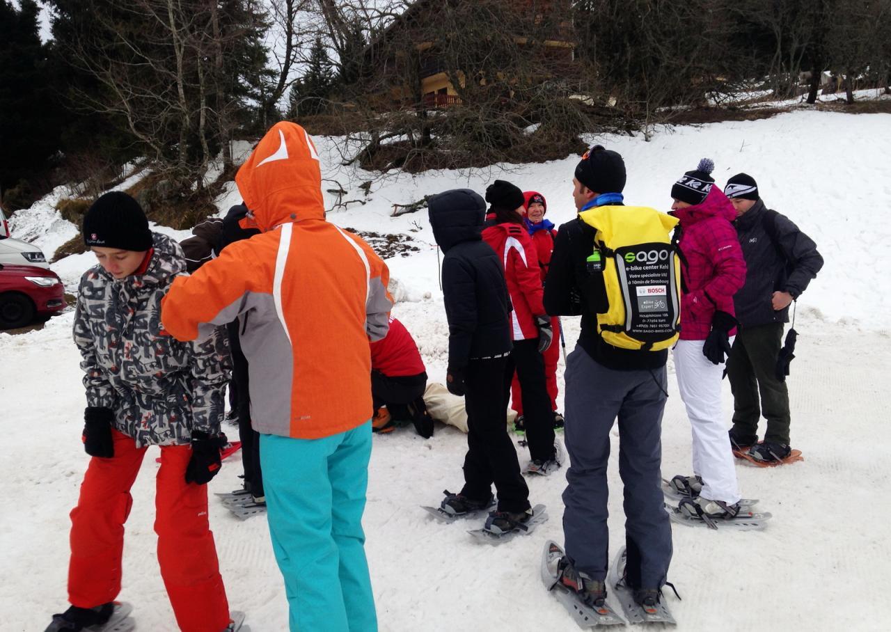 2018-01 Rando raquettes Lac Blanc